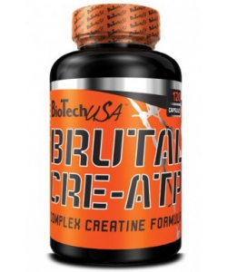 BioTech USA BRUTAL CRE-ATP (120 капсул)