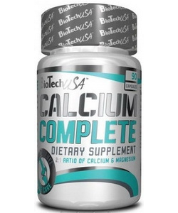 BioTech USA Calcium Complete (90 капсул, 45 порций)