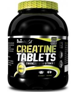 BioTech USA Creatine Tablets (200 таблеток, 40 порций)