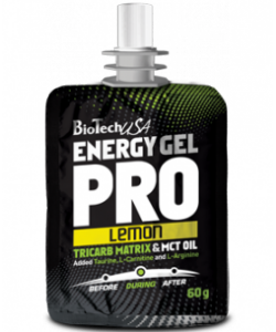 BioTech USA Energy gel Pro (60 грамм, 1 порция)