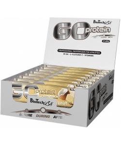 BioTech USA Go Protein bar 21x80 g (1680 грамм, 21 порция)