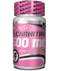 BioTech USA L-Carnitine 500 (60 таблеток)