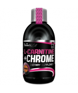 BioTech USA L-Carnitine + Chrome (500 мл, 33 порции)