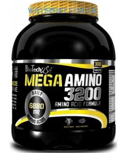BioTech USA Mega Amino 3200 (300 таблеток, 100 порций)