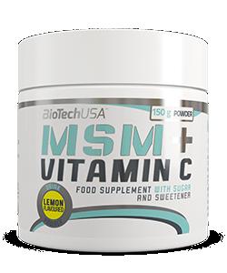 BioTech USA MSM + Vitamin C (150 грамм)