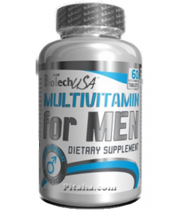 BioTech USA Multivitamin for Men (60 таблеток)