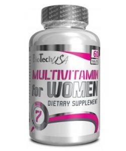 BioTech USA Multivitamin for Women (Women's Performance) (60 таблеток)