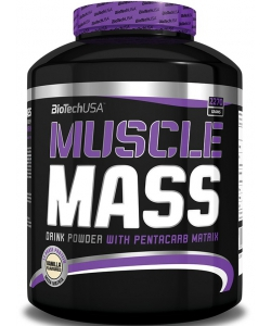 BioTech USA Muscle Mass (2270 грамм, 32 порции)