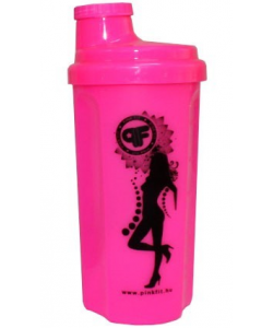 BioTech USA NEON Shaker Pink Fit Lady (500 мл)