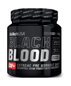BioTech USA Nutrition Black Blood CAF+ (300 грамм, 30 порций)