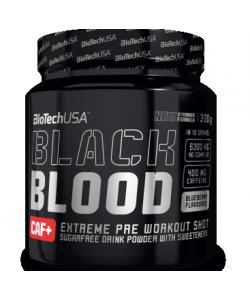 BioTech USA Nutrition Black Blood CAF+ (300 грамм, 30 порций)