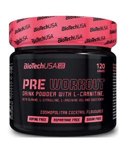 BioTech USA Nutrition Pre Workout (120 грамм, 30 порций)