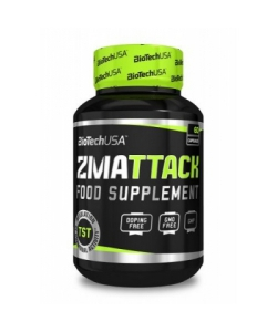 BioTech USA Nutrition ZM Attack (60 капсул, 60 порций)