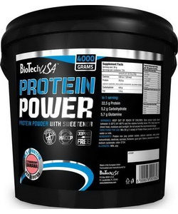BioTech USA Protein Power (4000 грамм, 133 порции)