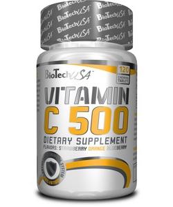 BioTech USA Vitamin C 500 (120 таблеток, 120 порций)