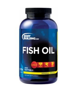 Bodybuilding.com Fish Oil (200 капсул, 200 порций)