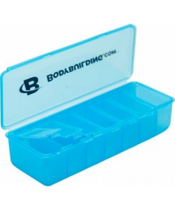 Bodybuilding.com Таблетница Deep Pocket Pill Organizer