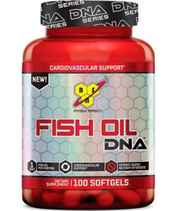 BSN Fish Oil DNA (100 капсул, 100 порций)
