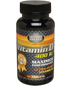 California Fitness Vitamin D (90 таблеток)