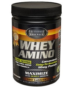 California Fitness Whey Amino (204 таблеток)