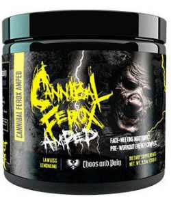 Chaos and Pain Cannibal Ferox AMPED Stim Pre-Workout (280 грамм, 25 порций)