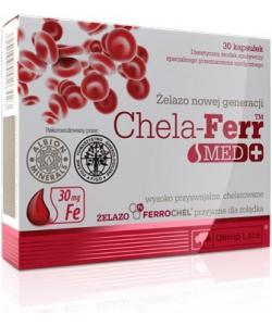 Chela-Ferr Med + (30 капсул)