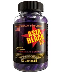 Cloma Pharma Asia Black 25 (100 капсул)