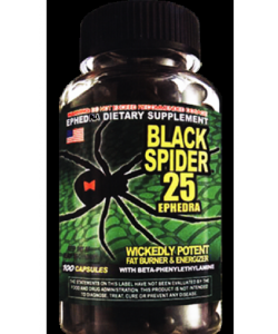 Cloma Pharma Black Spider (1 капсул, 1 порция)