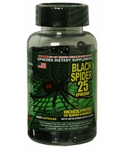 Cloma Pharma Black Spider 25 (100 капсул)