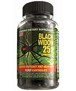 Cloma Pharma Black Widow 25 (100 капсул)