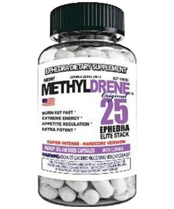 Cloma Pharma Methyldrene 25 Elite Stack (100 капсул)