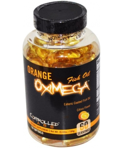 Controlled Labs Orange OxiMega Fish Oil (120 капсул)