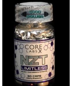 CORE LABS NZT LIMITLESS (30 капсул, 30 порций)