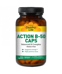 Country Life Action B-50 (100 капсул)