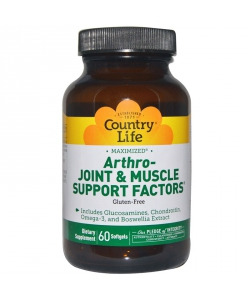 Country Life ARTHRO-JOIN MUSCLE SUPPORT FACTORS (60 капсул, 20 порций)