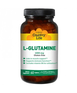 Country Life L-Glutamine (60 таблеток)