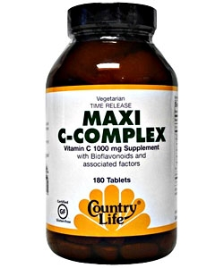 Country Life Maxi C-Complex (180 таблеток)