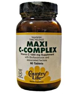 Country Life Maxi C-Complex (60 таблеток)