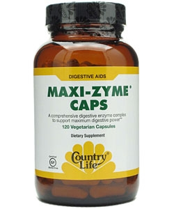 Country Life Maxi-Zyme Caps (120 капсул)
