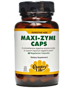 Country Life Maxi-Zyme Caps (30 капсул)