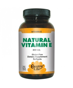 Country Life Natural Vitamin E (60 капсул)