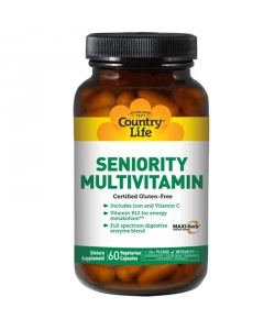 Country Life Seniority Multi-Vitamin (120 капсул)