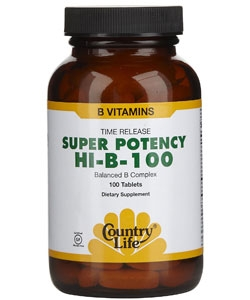 Country Life Super Potency HI-B-100 (100 таблеток)
