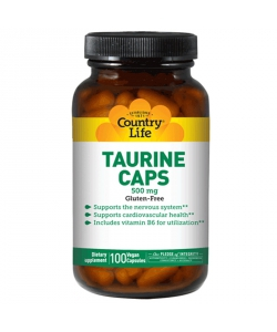 Country Life Taurine (100 капсул)