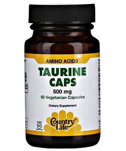 Country Life Taurine (50 капсул)