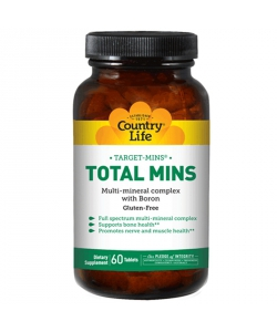 Country Life Total Mins (120 таблеток)
