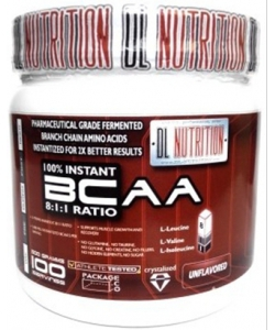 DL Nutrition 100% Instant BCAA (500 грамм)