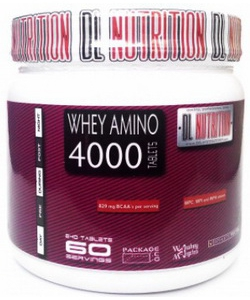DL Nutrition Whey Amino 4000 (240 таблеток)