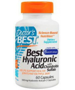 Doctor Best Hyaluronic Acid with Chondroitin Sulfate (60 капсул, 30 порций)