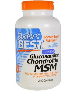 Doctor's BEST Glucosamine Chondroitin MSM (240 капсул, 120 порций)